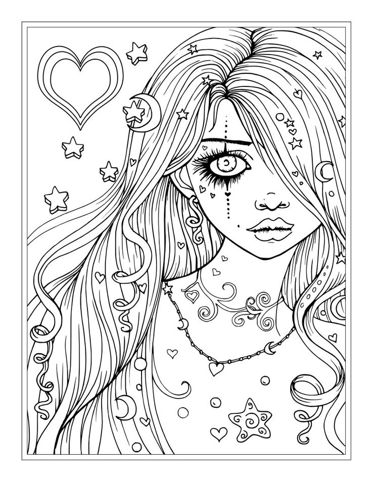 Princess Coloring Pages – Coloring.rocks!