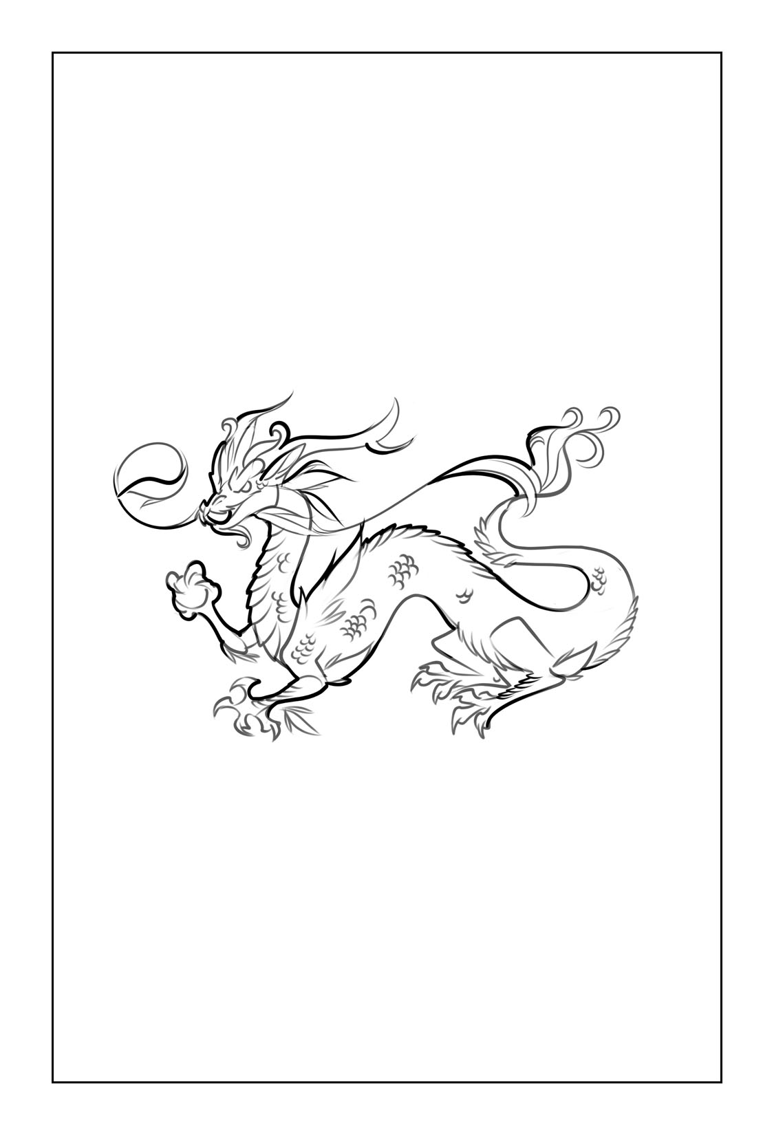 Dragon Coloring Pages coloringrocks