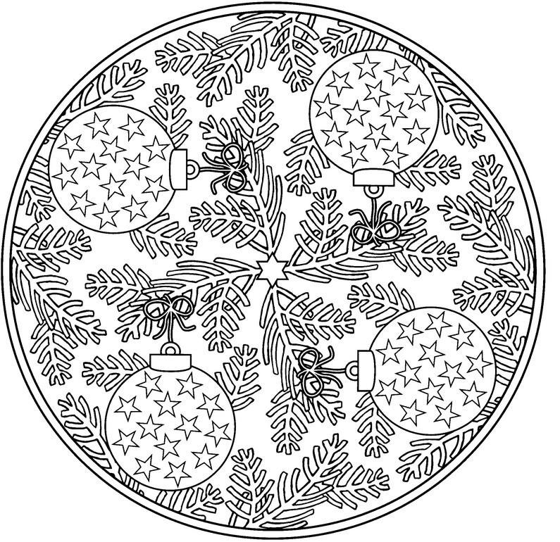 Christmas Ornaments Coloring Pages Coloring Rocks