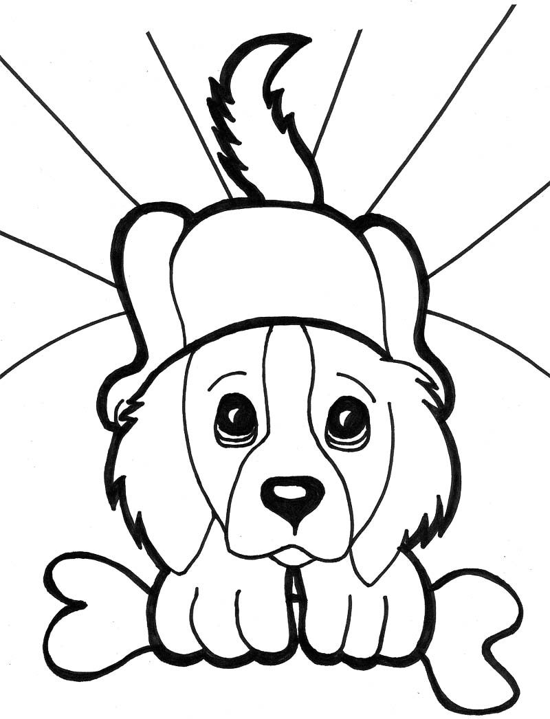 Dog Coloring Pages Coloring Rocks