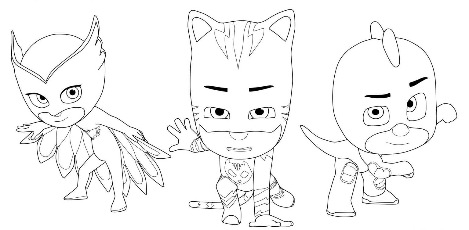 - PJ Masks Coloring Pages – Coloring.rocks!