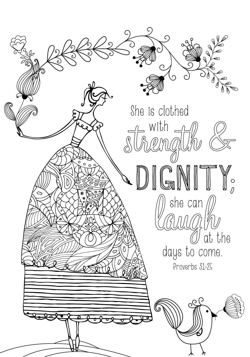 black and white bible coloring pages | Bible Coloring Pages – coloring.rocks!