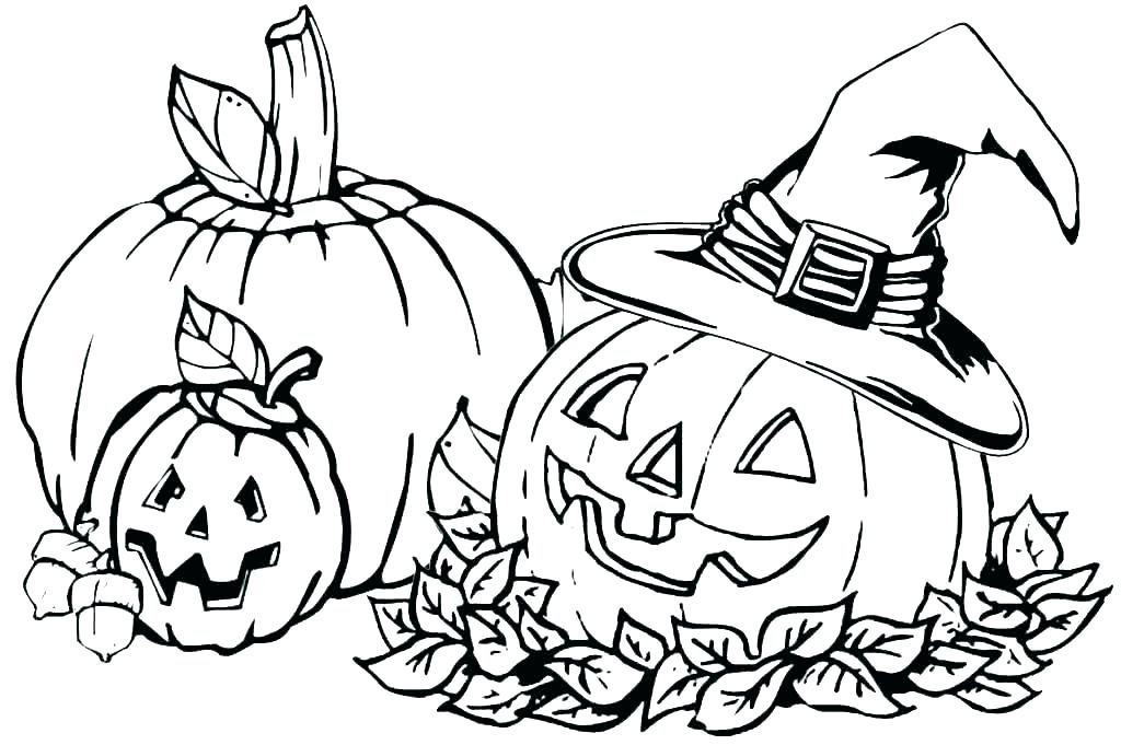 Free Pumpkin Coloring Pages for Kids | 681x1024