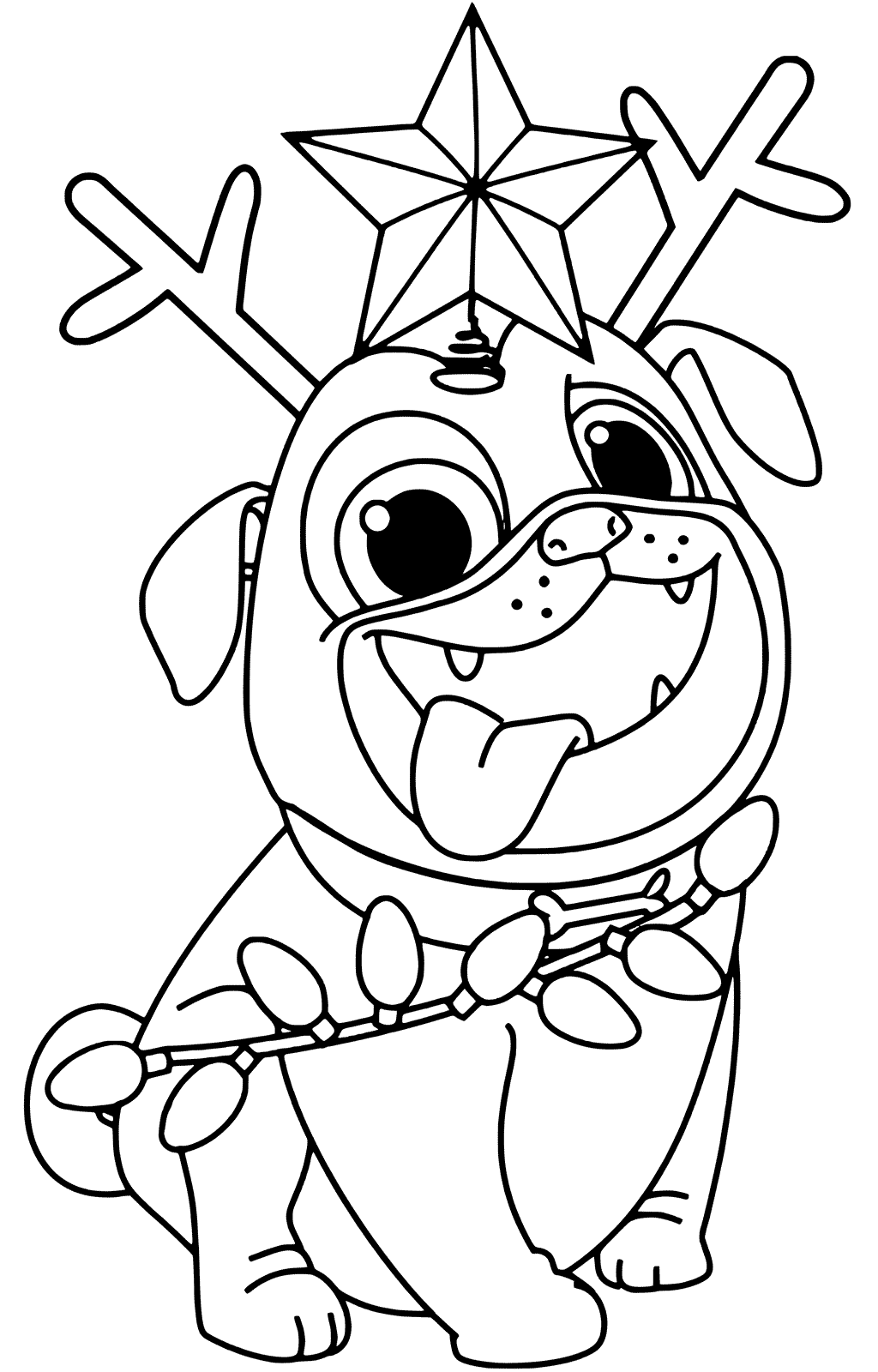 - Puppy Dog Pals Christmas Coloring Pages – Coloring.rocks!