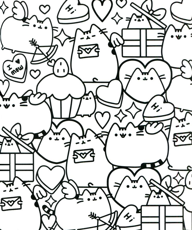 photo relating to Pusheen Printable named Pusheen Coloring Internet pages coloring.rocks!