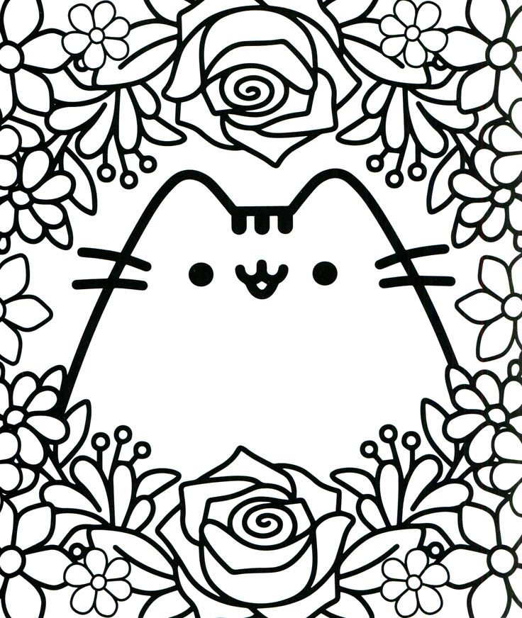 - Pusheen Coloring Pages – Coloring.rocks!