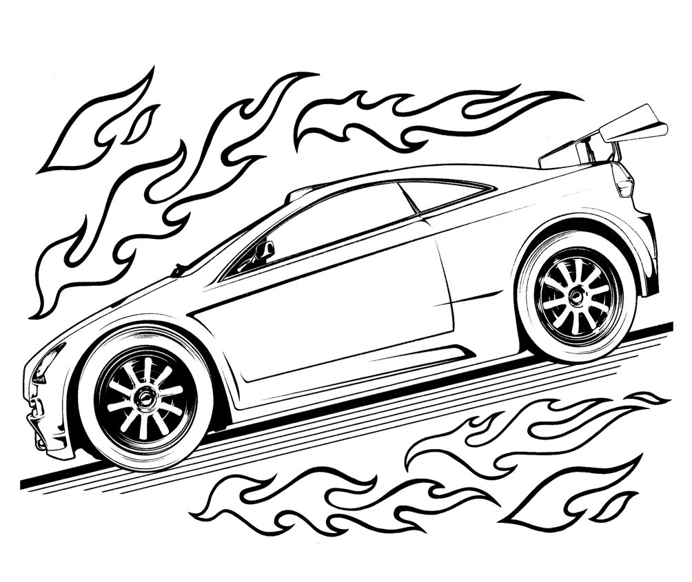 Race Car Coloring Pages Coloring Rocks