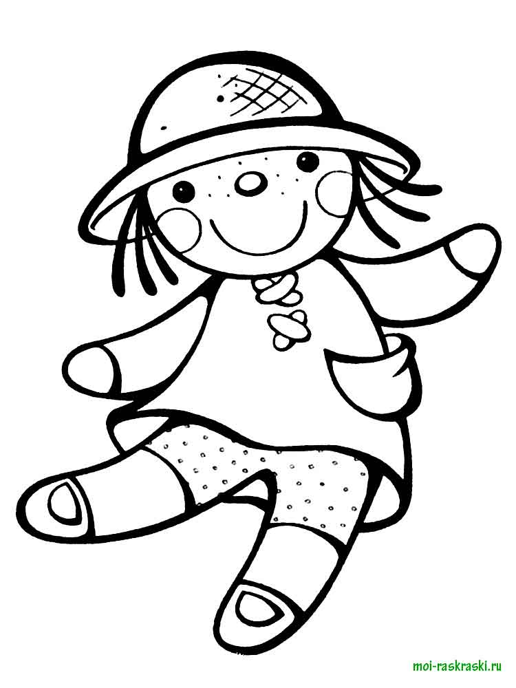 RagDoll Coloring Pages