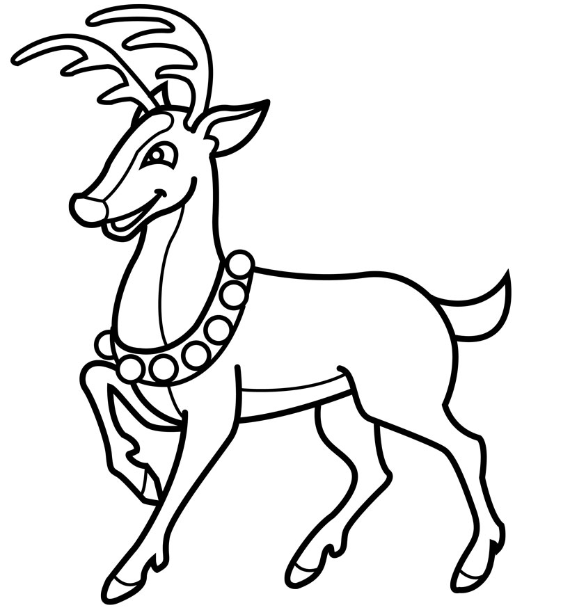 630 Cute Rudolph Coloring Pages , Free HD Download