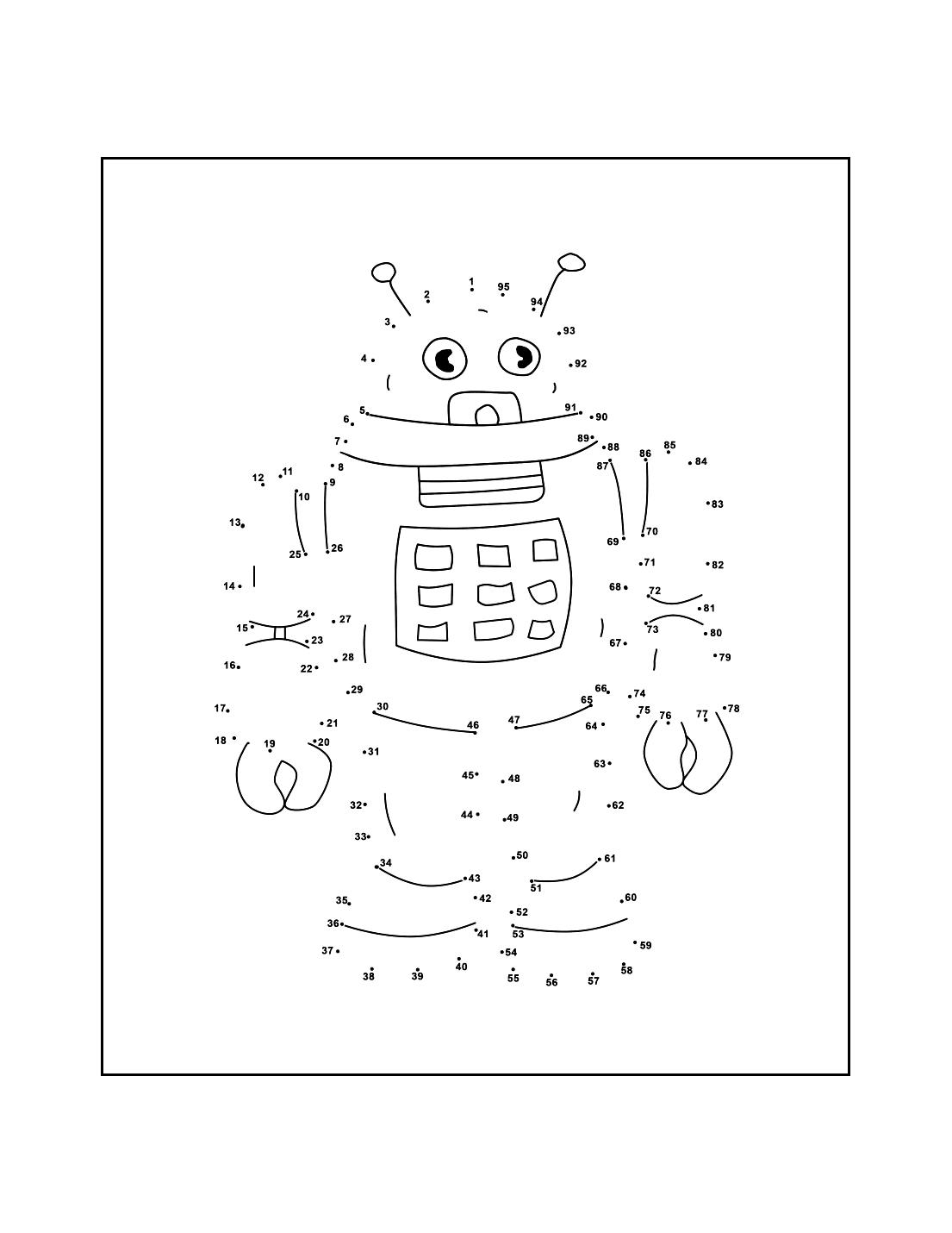 Robot Dot To Dot