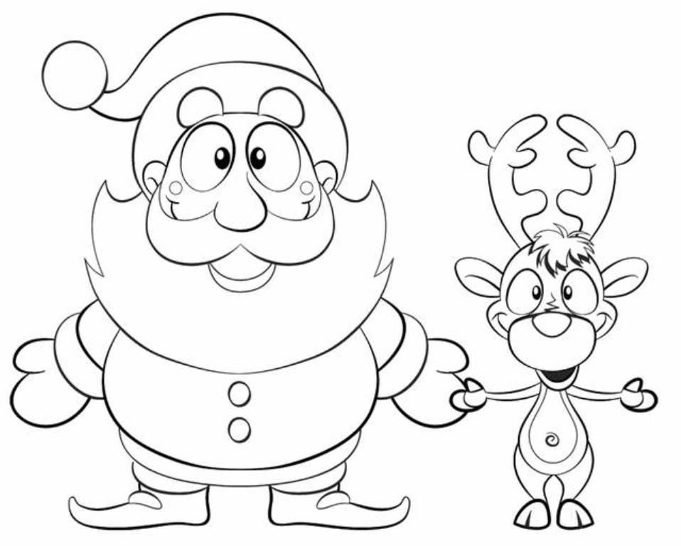 - Santa Coloring Pages – Coloring.rocks!