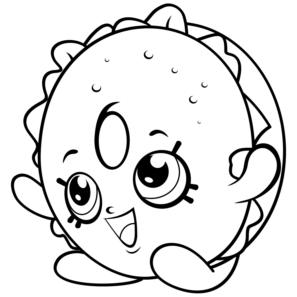 Shopkins Coloring Pages - coloring.rocks!