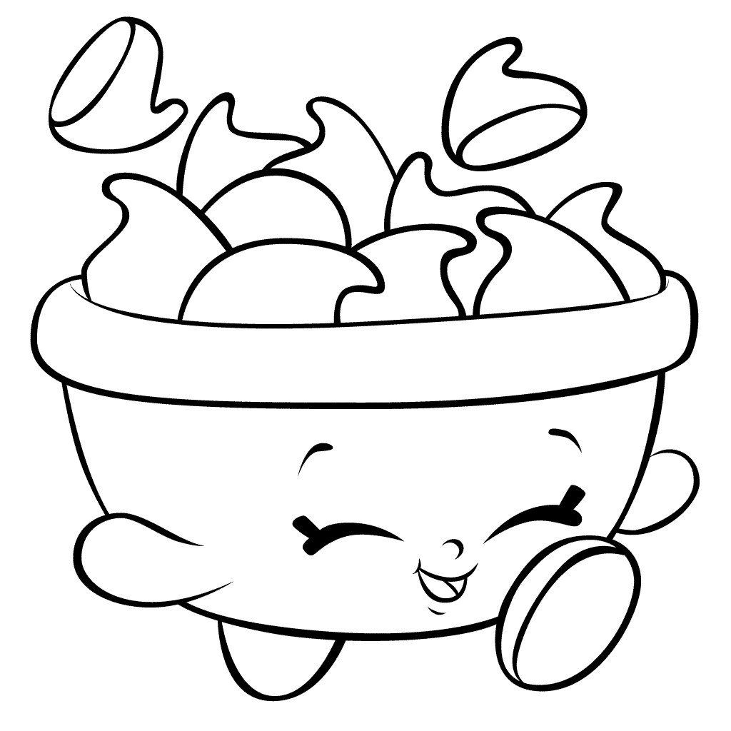 Shopkins Purse Coloring Pages | IUCN Water
