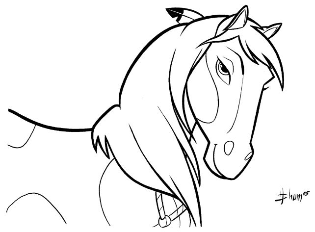 Horse Coloring Pages – coloring rocks!
