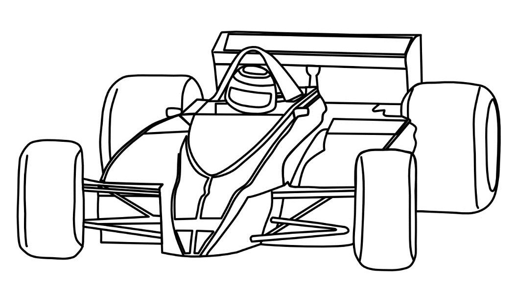 race car coloring pages  u22c6 coloring rocks