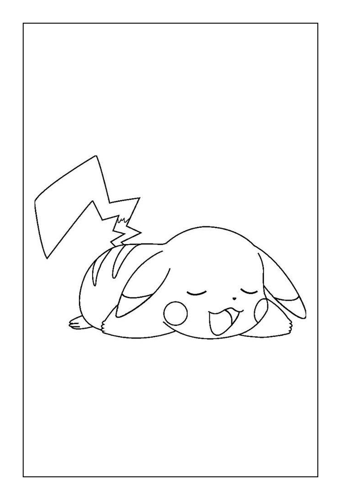 Pikachu Coloring Pages Coloring Rocks