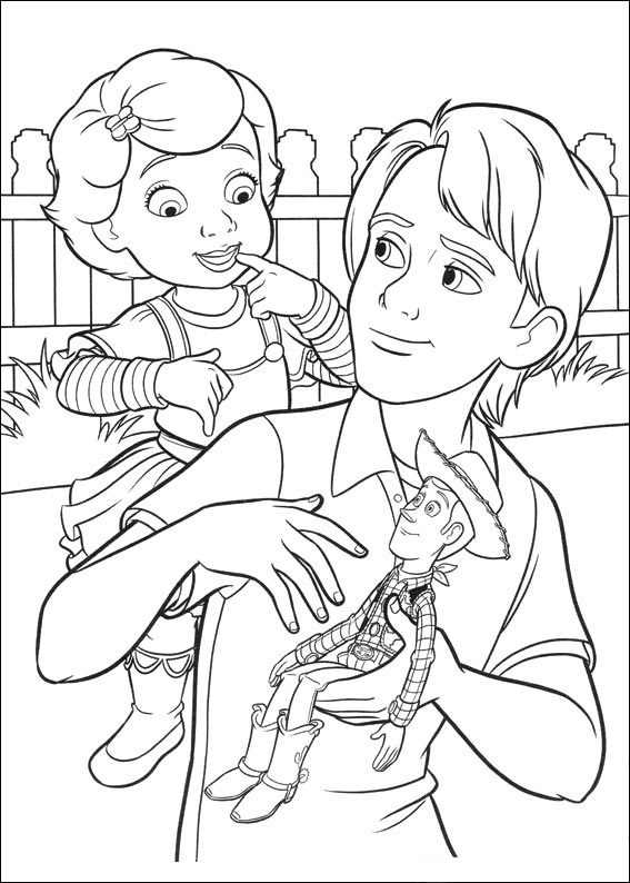 Small Toy Story 4 Coloring Pages