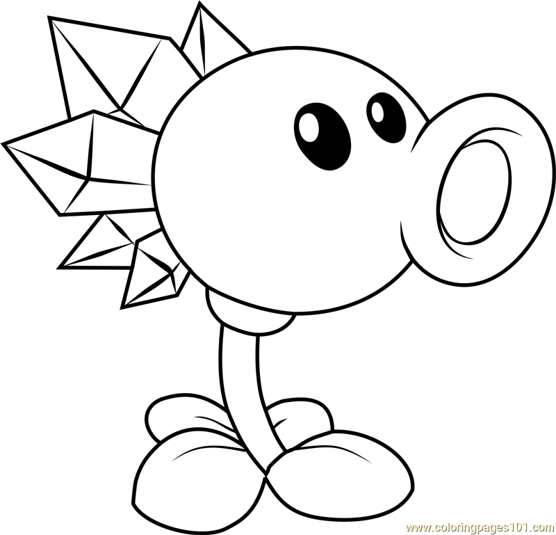 - Plants Vs Zombies Coloring Pages – Coloring.rocks!