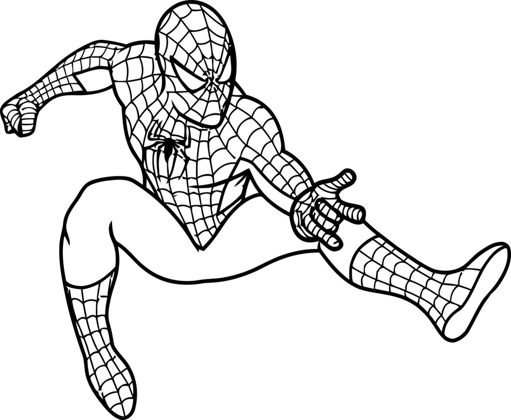 Spiderman Coloring Pages for Boys