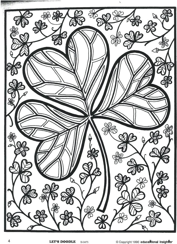 St Patricks Day Coloring Pages Coloring Rocks