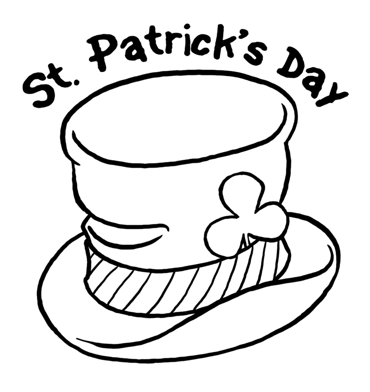 Free Printable St. Patrick's Day Coloring Pages - Oh My Creative | 790x746