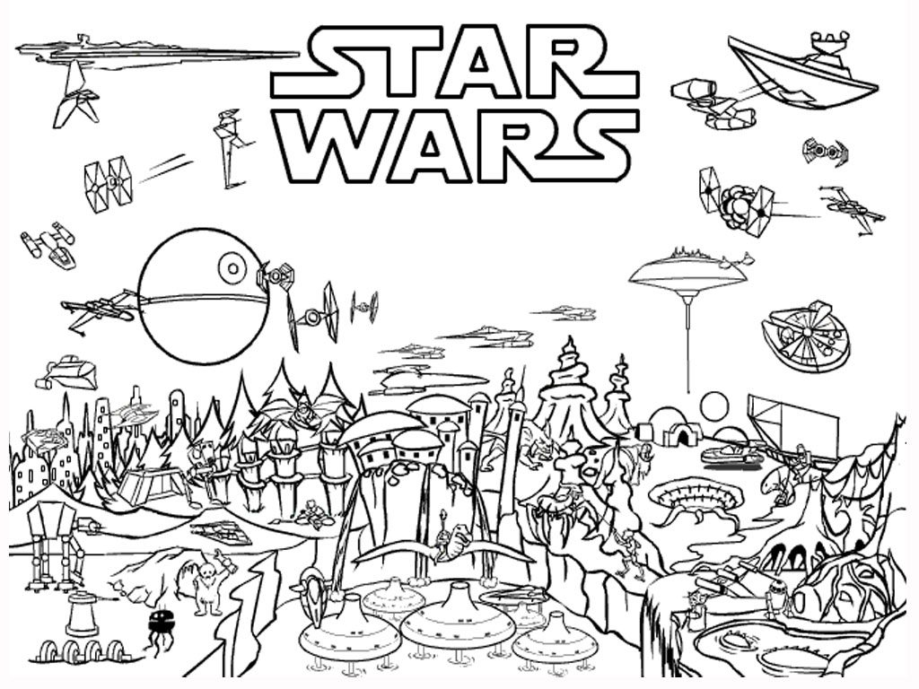 Star Wars Coloring Pages for Boys