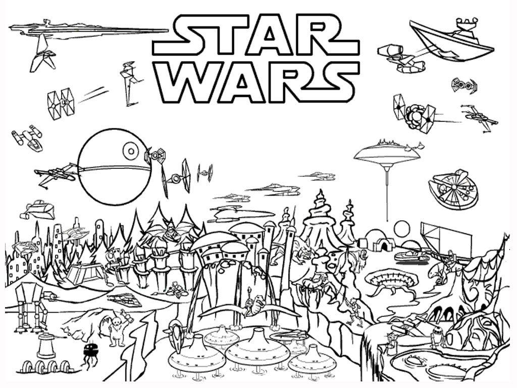 Star Wars Coloring Pages coloringrocks