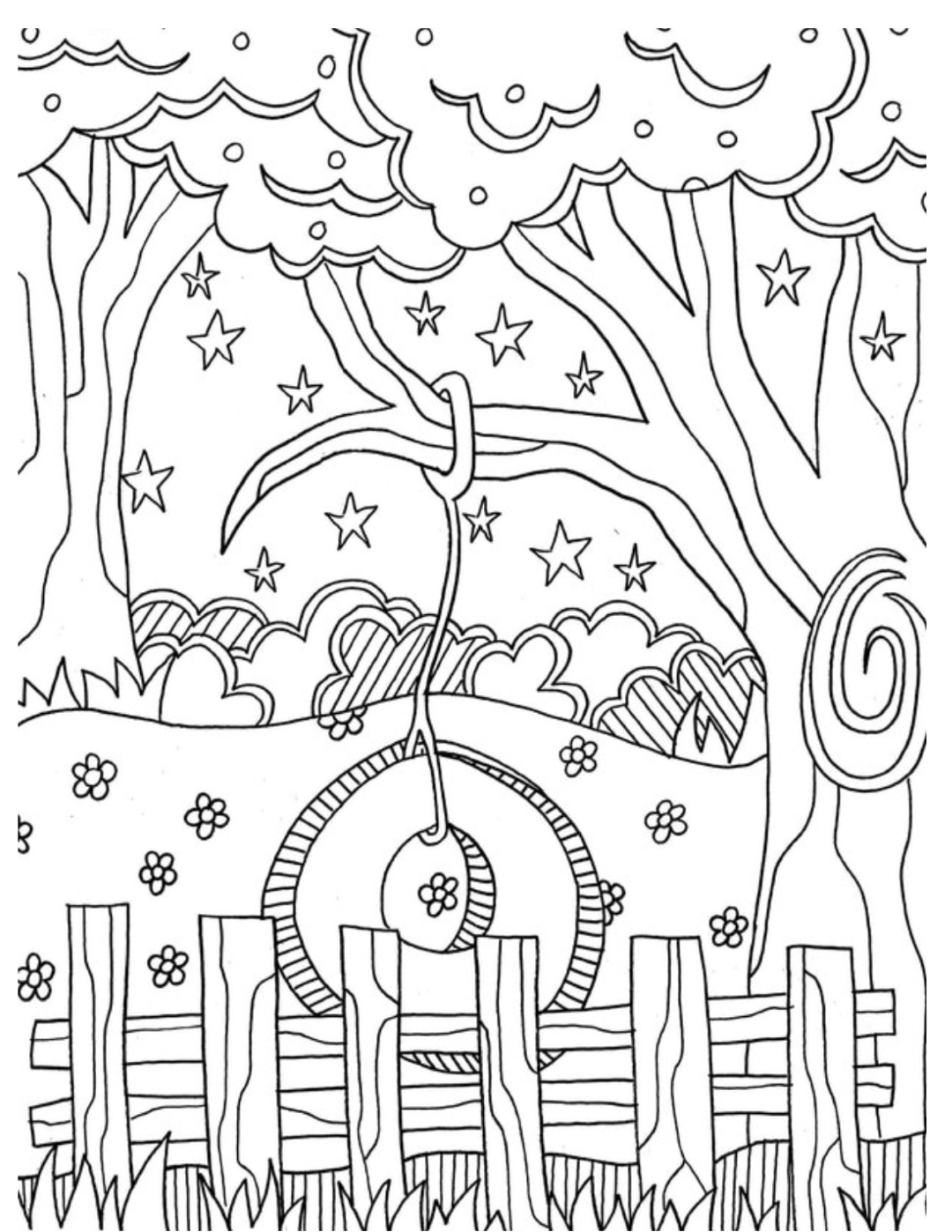 Summer Coloring Pages Coloring Rocks