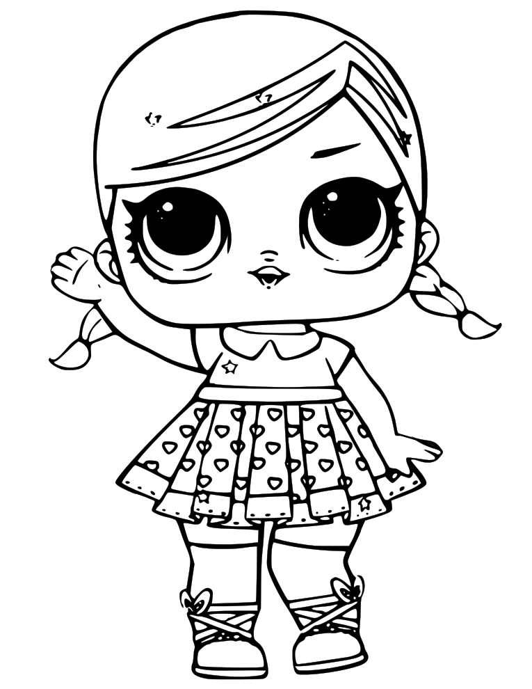LOL Doll Coloring Pages - coloring.rocks!