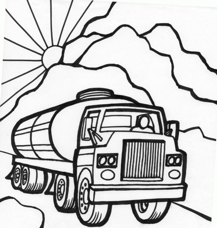- Truck Coloring Pages – Coloring.rocks!