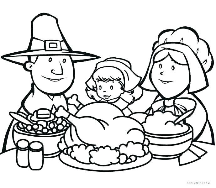 Thanksgiving Coloring Pages – Coloring.rocks!