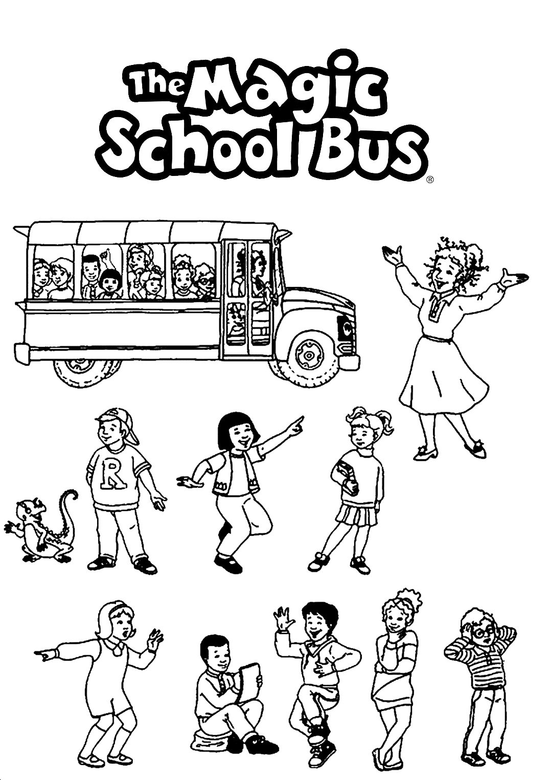 Top 20 Free Printable Back To School Coloring Pages Online | 1525x1080