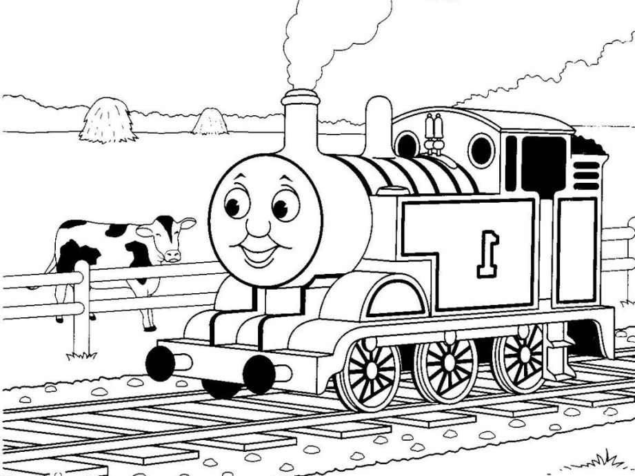 Thomas Coloring Pages for Boys