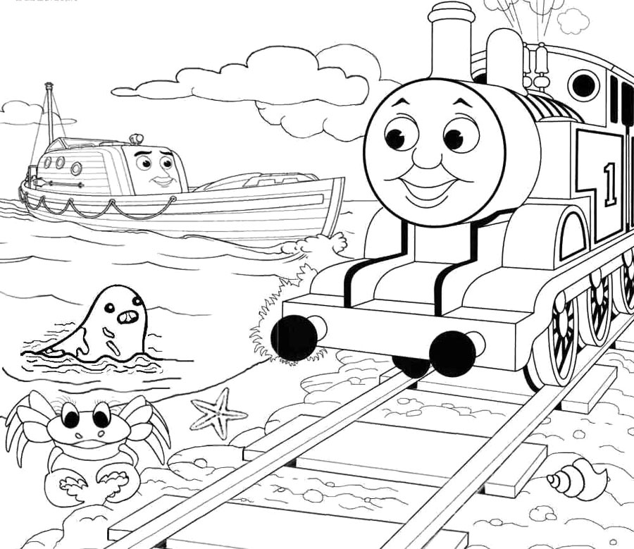 - Thomas Coloring Pages – Coloring.rocks!