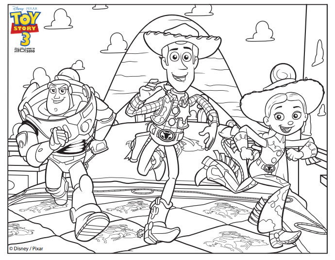 Buzz Lightyear Printable - Toy Story 4 Coloring Pages, HD Png ...   536x690