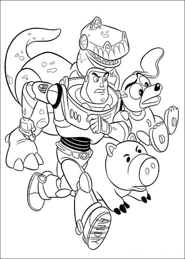 Toy Story Printable Coloring Pages