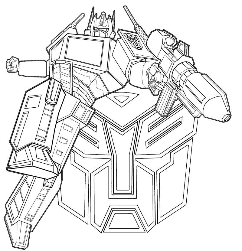 Transformers Coloring Pages – coloring.rocks! | 830x800