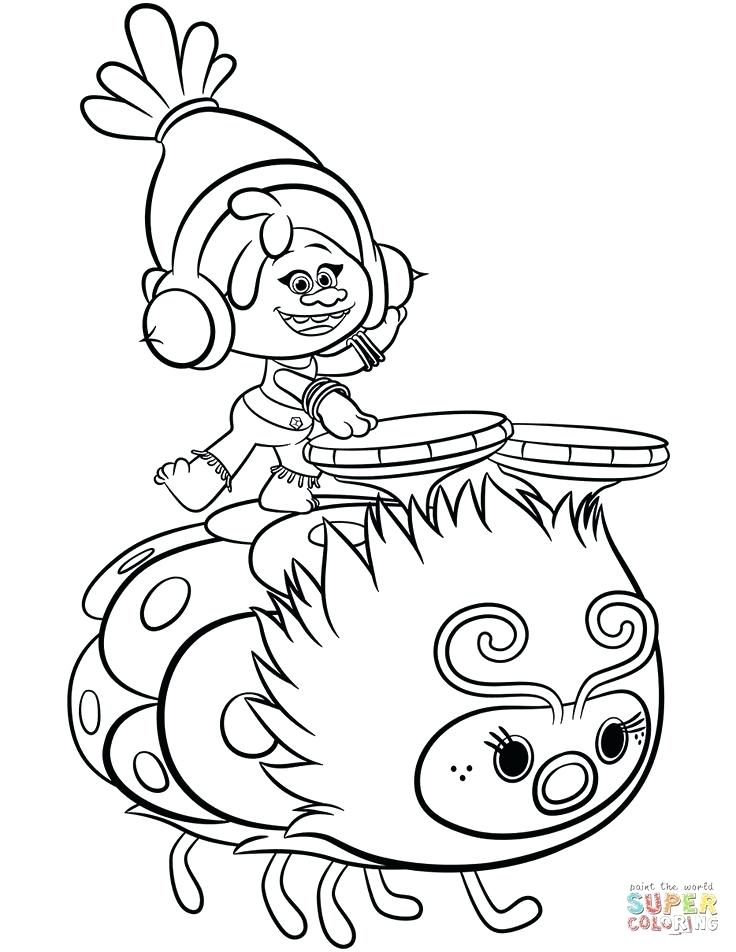 Trolls Coloring Pages – Coloring.rocks!