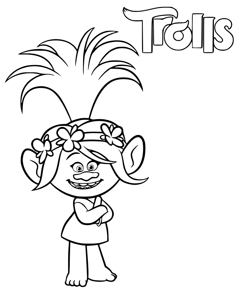 Trolls Coloring Pages Coloring Rocks