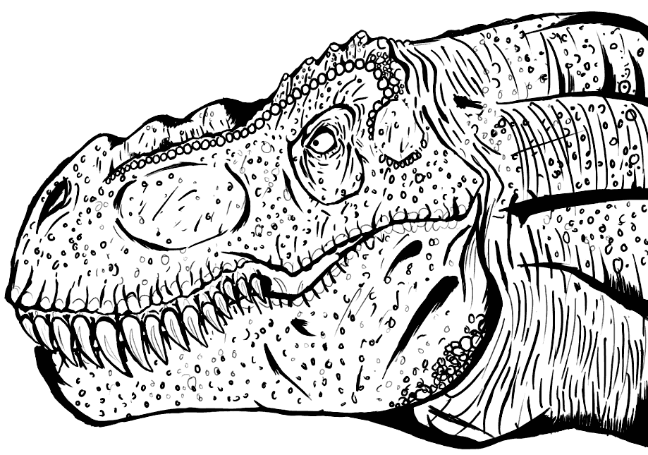 20+ Free Printable T-Rex Coloring Pages - EverFreeColoring.com | 645x919