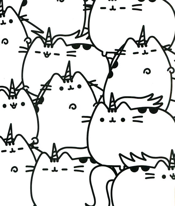 Unicats Kawaii Coloring Pages