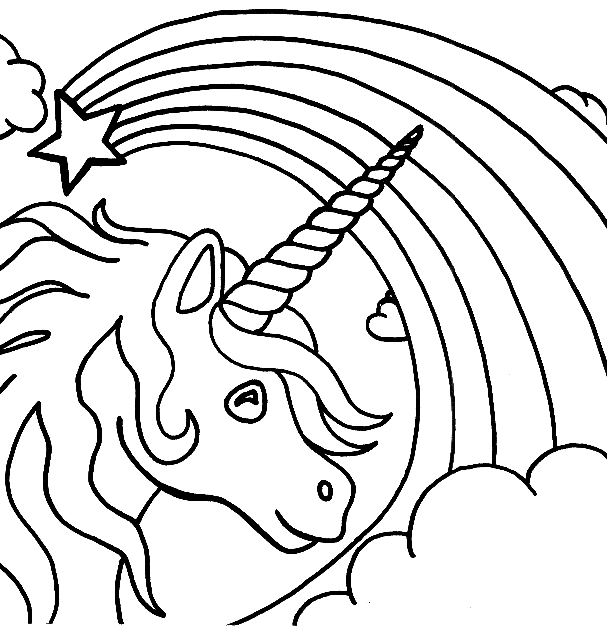 - Unicorn Coloring Pages – Coloring.rocks!