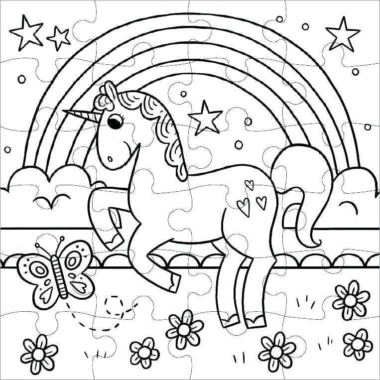 Rainbow Coloring Pages Coloring Rocks