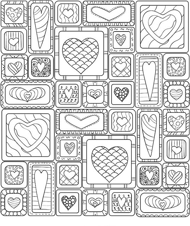 The cutest Valentines Coloring Pages | Skip To My Lou | 760x640