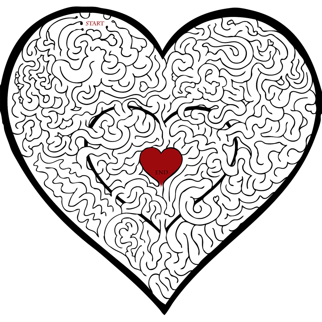 Valentines Day Maze