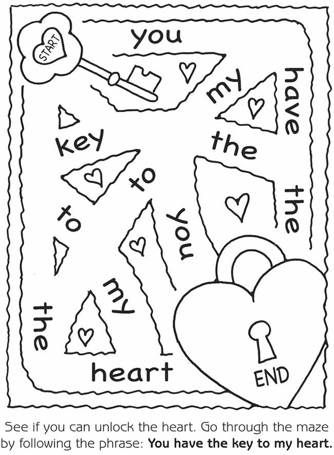 Valentines Mazes