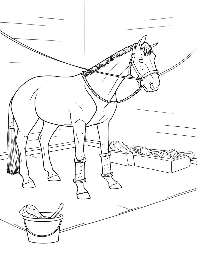 Horse Coloring Pages Coloring Rocks