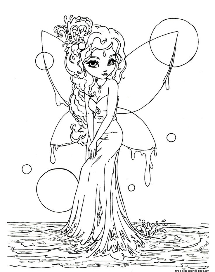 - Fairy Coloring Pages – Coloring.rocks!