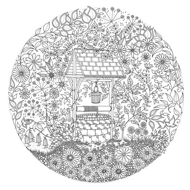 Garden Coloring Pages Coloring Rocks