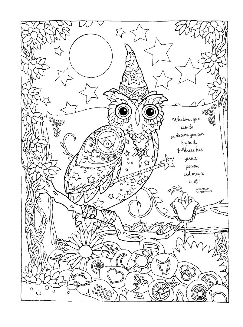Parentune - Free Printable Wizard-of-oz Coloring Pages, Wizard-of ... | 1080x803